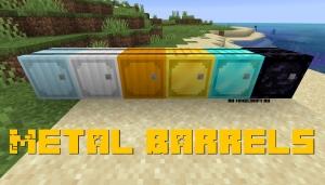 Metal Barrels - металлические бочки [1.15.1] [1.14.4]