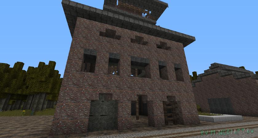 S.T.A.L.K.E.R.: Call of Minecraft [1.14.4] [256 x 256]