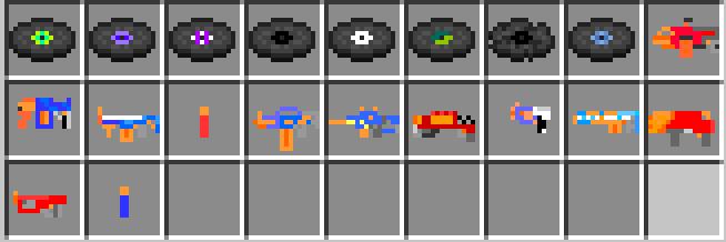 NERFGun - игрушечное оружие Нерф [1.12.2]