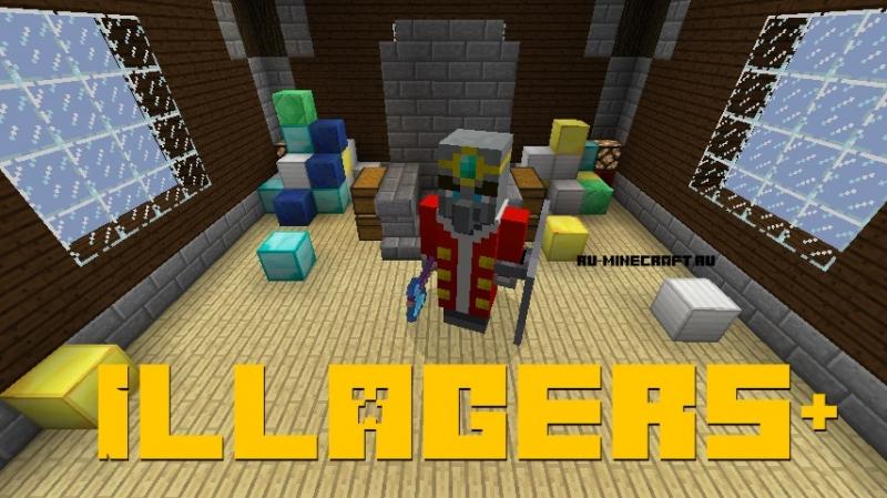 Illagers+ - новые злые мобы [1.16.5] [1.15.2] [1.14.4] [1.12.2]