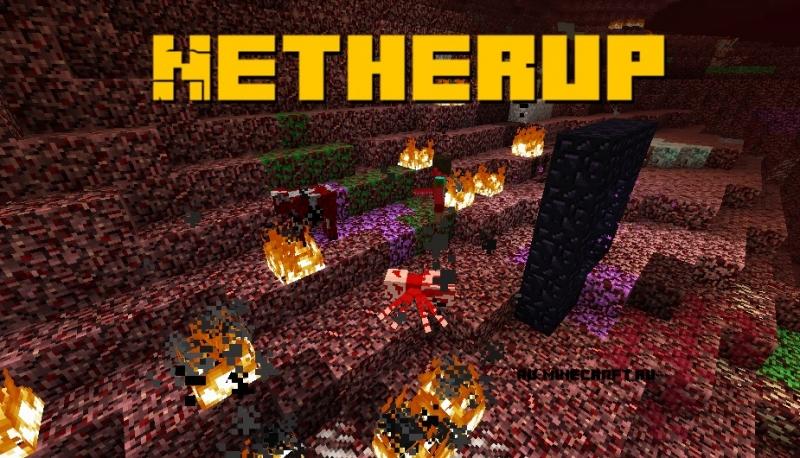 Netherup - разнообразный ад [1.16.5] [1.15.2] [1.14.4] [1.12.2]