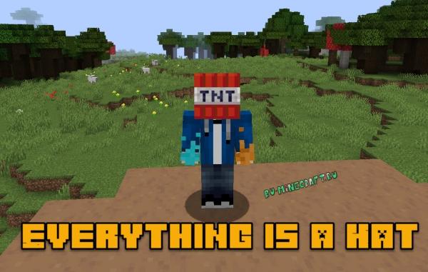 Everything is a Hat - надень любой блок на голову [1.15] [1.14.4]
