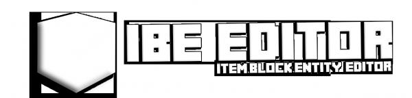 IBE editor - Удобный редактор NBT тегов [1.16.3] [1.15.2] [1.14.4] [1.12.2] [1.11.2] [1.10.2]
