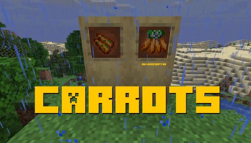 Carrots - необычные морковки [1.14.4]