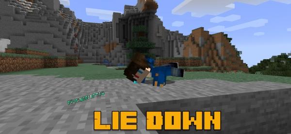 Lie Down - возможность ползать [1.14.4]
