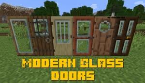 Modern Glass Doors - современные стеклянные двери [1.17] [1.16.5] [1.15.2] [1.14.4]