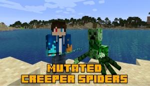 Mutated Creeper Spiders - мутант крипер-паук [1.14.3]