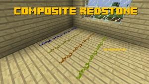 Composite Redstone - новые виды редстоуна [1.12.2]