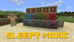 Sleepy Magic - магические талисманы [1.14.3]