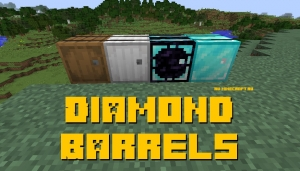 Diamond Barrels - шкафы для вещей [1.12.2]