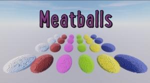 Meatballs - паркур в сферах [1.12.2]