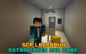 SCP Lockdown Extra Zones and More! - больше сцп объектов [1.12.2]
