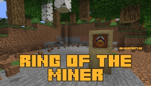 Ring of the Miner - кольцо шахтёра [1.16.5] [1.15.2] [1.14.4]