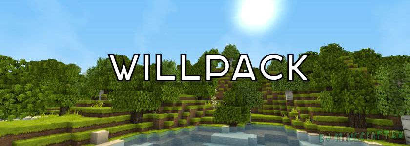 Willpack — приятный ресурспак! [1.11.2 - 1.9] [32 x 32]