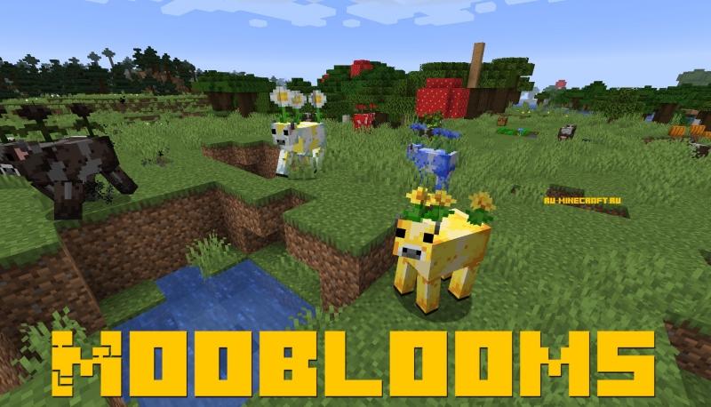 Mooblooms - новые коровы [1.16.5] [1.15.2] [1.14.4]