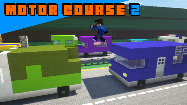 Motor Course 2 - паркур на движущихся машинах [1.14.4]