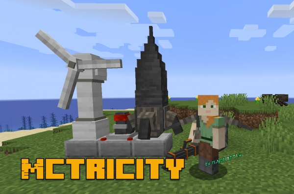 Mctricity - огнемет, ракета, джетпак, ветряк [1.14.4]
