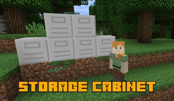 Storage Cabinet - шкаф для вещей [1.16.5] [1.14.4] [1.12.2]