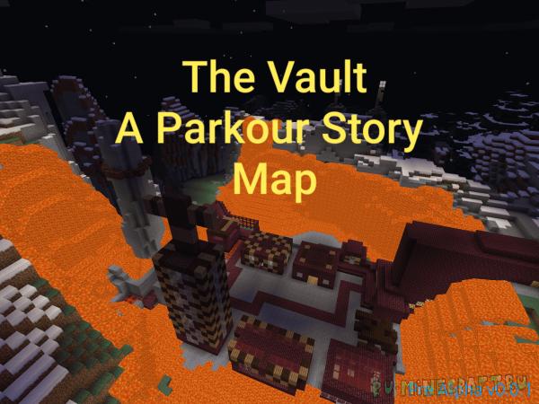 The Vault: A Parkour Story Map (Глава 1) — приключенческая карта про постапокалипсис!  [1.12.2]