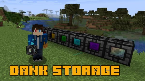 Dank Storage - большое переносное хранилище [1.15.2] [1.14.4] [1.12.2]