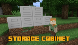 Storage Cabinet - шкаф для вещей [1.17.1] [1.16.5] [1.14.4] [1.12.2]