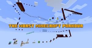 The Worst Minecraft Parkour - непроходимая паркур карта [1.13.2]