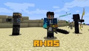 R.W.A.S - A Minecraft Expansion - оружие, боссы, структуры [1.12.2]