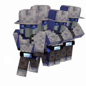 Guard Illagers - мечники разбойники [1.14.4] [1.12.2]