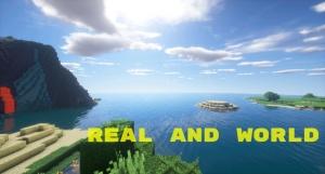 Real and World — сборка модов на Minecraft с реализмом! [1.12.2] [v.2.0]