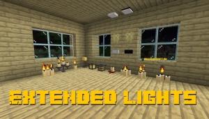 Extended Lights - новые светильники/источники света [1.15.2] [1.14.4]