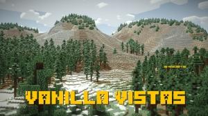 Vanilla Vistas - реалистичная гористая местность [1.12.2]