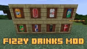 Fizzy Drinks Mod - газировка и энергетики [1.12.2]