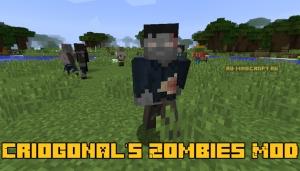 Criogonal's Zombies Mod - новые зомби [1.12.2]