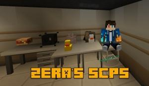 Zera's SCPs - новые СЦП объекты [1.12.2]