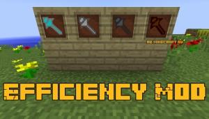 Efficiency Mod - предмет всё-в-одном [1.12.2]