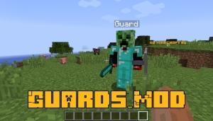 Guards_Mod - вооружённый телохранитель [1.12.2]
