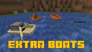 Extra Boats - новые лодки [1.16.5] [1.15.2] [1.14.4]