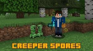 Creeper Spores - споры и детеныши криперы [1.16.5] [1.15.2] [1.14.4]