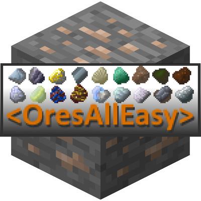 OresAllEasy - объединение руд разных модов [1.14.4] [1.12.2]