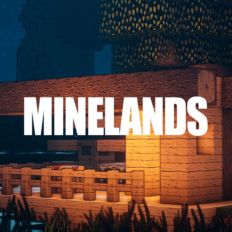 Minelands - текстуры в стиле Borderlands [1.14.4] [128x]