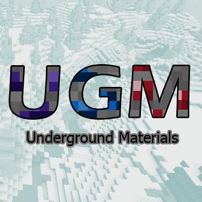 Underground Materials [1.15.2] [1.14.4]
