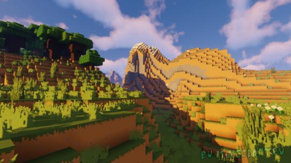 Minecraft Promo Texture Pack - ресурспак по артам игры [1.14.4] [16x]
