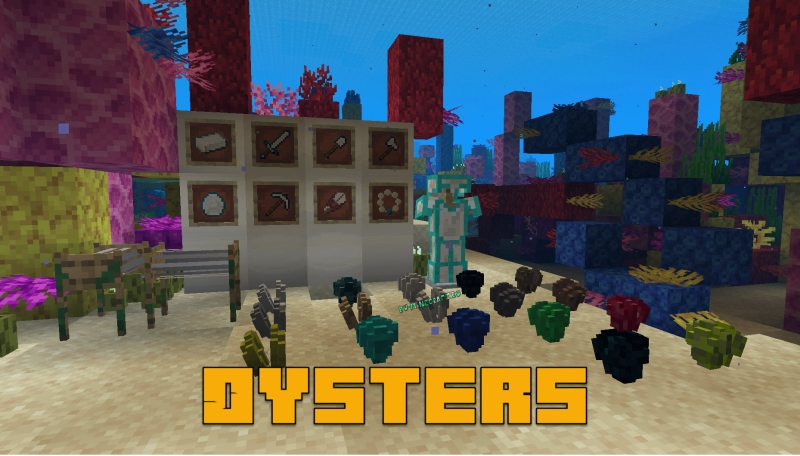 Oysters - устрицы [1.16.1] [1.15.2] [1.14.4]