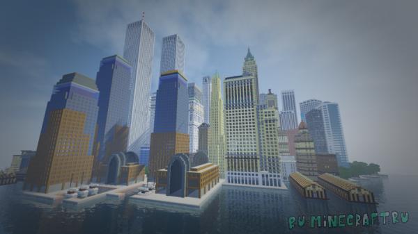 SimCity 2000 New York City - нью-йорк из симсити [1.14.4]