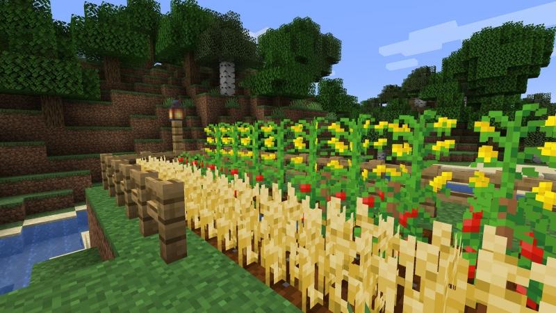 Simple Farming - новые растения для фермеров [1.15.2] [1.14.4]
