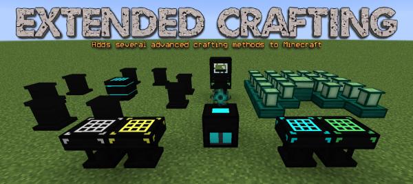 Extended Crafting - увеличенные крафты для сборок [1.15.2] [1.12.2]