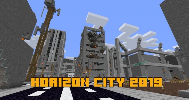 Horizon City 2019 - выживание в городе с монстрами [1.14.4] [1.12.2]