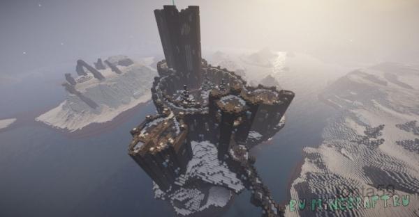 Winterhold (Skyrim TES) - город из скайрима [1.14.4] [1.13.2] [1.12.2]