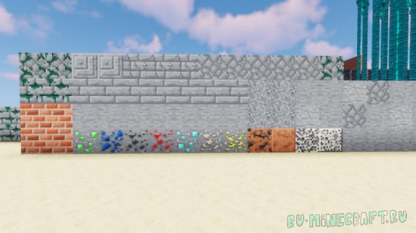 Teal Woods - новая цветовая гамма у текстур [1.15.1] [1.14.4] [16x]