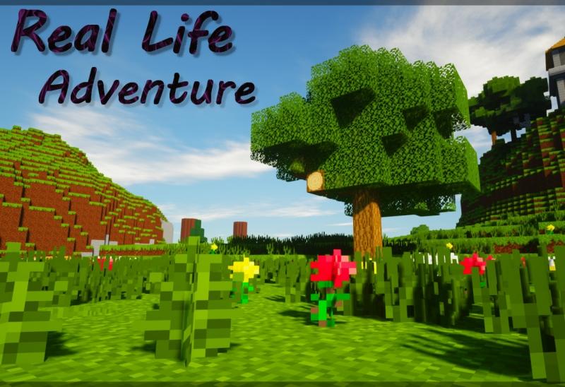 Real Life Adventure - больше реалистичности в низком разрешении [1.14.4] [1.12.2]